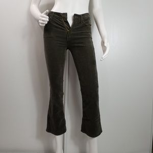 Mother The Outsider Crop Bootcut Sz 24 Pants  2397